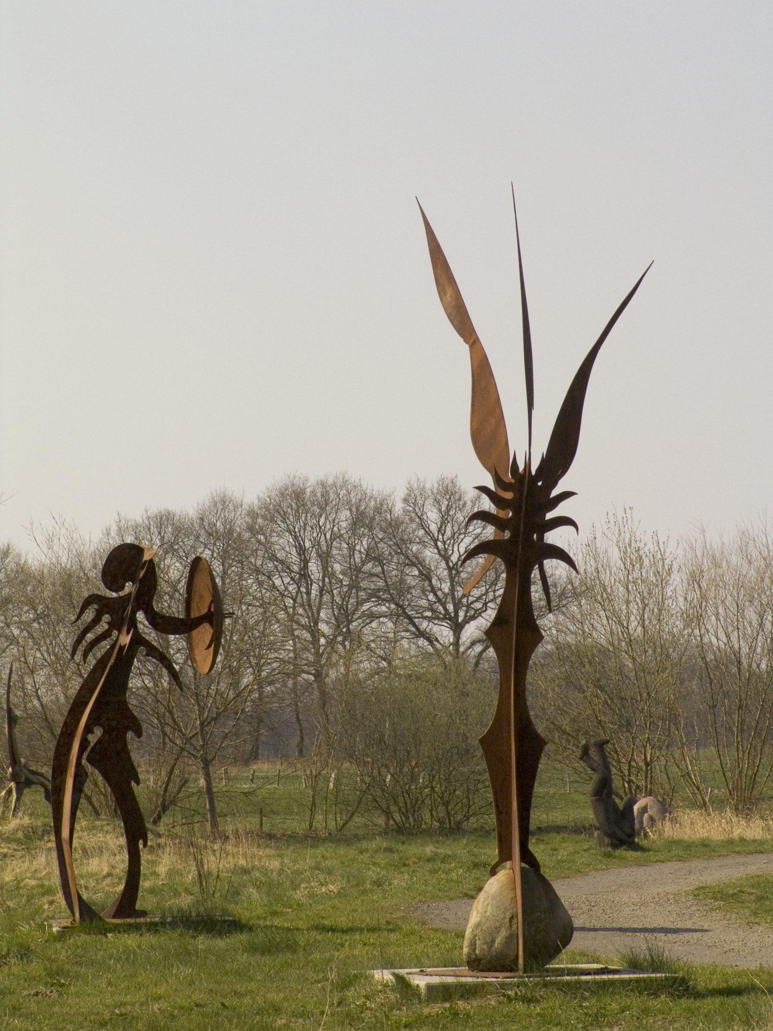Skulpturenufer Hude bei Bremen