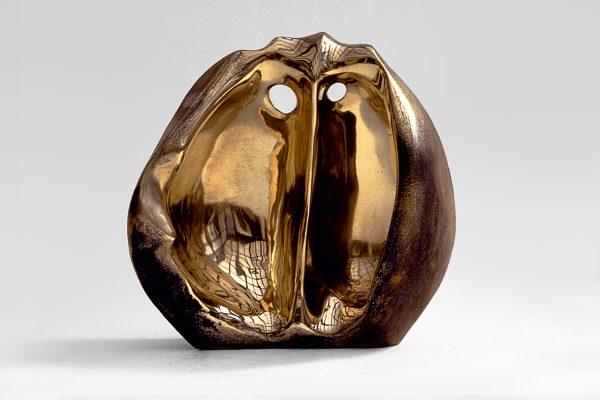 Bronzeplastik von Wolf E. Schultz